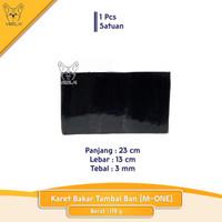 1 Pcs Karet Bakar Tambal Ban Tebal 3 mm [M-One]