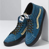 Vans x Parks Project Sk8-Hi Skate Shoe Blue/White Original