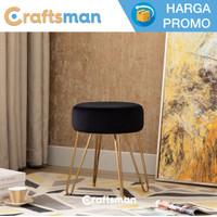 Stool bulat / kursi samping / bangku minimalis | STO04