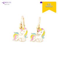 Meilyn Anting Jurai Anak Gold Motif Kuda Poni Putih Emas 0271210031