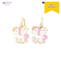 Meilyn Anting Jurai Gold Motif Kuda Poni Pink Cat Emas 0271210311