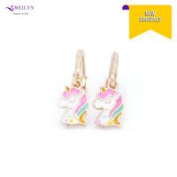 Meilyn Anting Jurai Gold Motif Kepala Kuda Poni Cat Emas 0271190317
