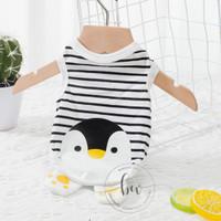 Baju Anjing Kucing - Penguin Dog Shirt Kaos Anjing Kucing
