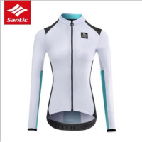 Baju Santic Wanita Tangan Panjang-Women Cycling Jersey Long 002