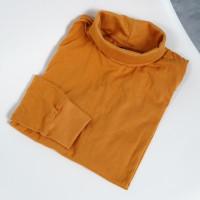 Baju kaos pria turtle neck / baju kaos cowok / baju kaos murah - Mustad, XL