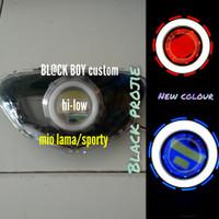 REFLEKTOR MIO LAMA /HEADLAMP LAMPU DEPAN MIO SPORTY PROJIE LED