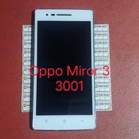 LCD Touchscreen plus frame OPPO MIRROR 3 3001 Original second copotan