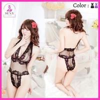 Lingerie Baju Sexy Seksi Renda Pakaian Mesh Baju Tidur Wanita FN-11