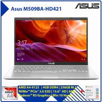 ASUS M509BA AMD A4-9125 4GB 256GB SSD+Housing 15.6 HD Win10+OHS2019