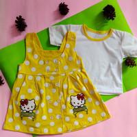 baju bayi perempuan 6 12 bulan kancing 10 kuning