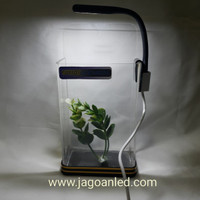 Lampu Aquarium Mini Soliter Cupang USB LED Flexible
