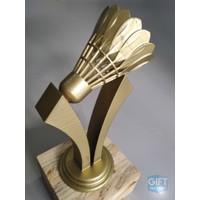 TERUNIK! Trophy 3D, Plakat 3D, penghargaan, perlombaan, badminton