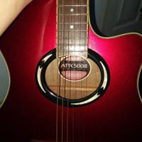 Dijual Gitar Yamaha APX 500 II APX500II Merah Maroon