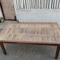 Bale Kayu Alas Bambu Uk 100 cm (siku)
