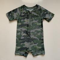 Baju Renang Anak Laki Laki Old Navy Shark Army Green