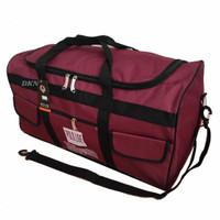 tas pakaian travel bag serbaguna polo live jumbo - Maroon