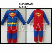 baju kostum anak superman superhero