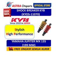 Shock Breaker Belakang KYB OS Motor Yamaha Jupiter MX 135 KYOS-11070 - Kuning