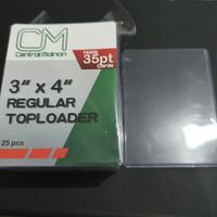 Central Mainan 3x4 Regular Toploader for 35pt cards (Satuan)