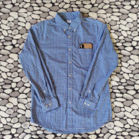 kemeja / shirt uniqlo gingham original not pull&bear zara man levis