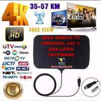 taffware antena tv digital dvb t2 high gain 25db