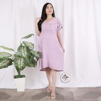 Baju Hamil Dress Hamil Menyusui Maternity XL DS-17