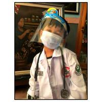 Jas Dokter Anak-Baju Profesi Dokter Anak-Kostum Jas Dokter Anak - S