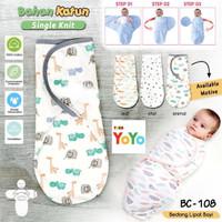 Bedong Bayi / Bedong Lipat Bayi Baby Leon / Bedong Bayi Instant Tempel - Bintang