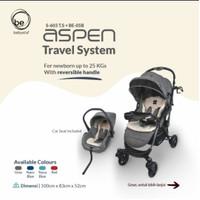 STROLLER BABY ELLE ASPEN WITH CAR SEAT