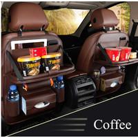 Toyota Kijang Innova Car Seat Mobil Storage Table Bag Leather Sepasang