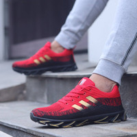 Trekking Adidas AX2 Gunung / Sepatu Red Black Outdoor Gunung Pria l