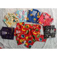 Baju tidur Wanita/set piyama anak laki-laki perempuan CP 1-5 th - COD