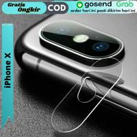 Tempered Glass Kamera Belakang Iphone X Anti Gores Kamera