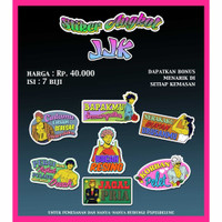 Stiker Angkot JJK