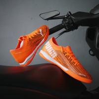 Sepatu Futsal Puma Ultra 3.1IT Shocking Orange Original 10609001