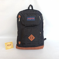 Tas Ransel Jansport Austin Black Backpack Original Bag