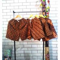 Celana Pendek Batik Jogja Pria & Wanita