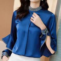 baju import atasan wanita pesta elegan mewah korea blouse bluss keren