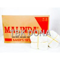MALINDA BAKER'S FAT RE-PACK 500 GR / MENTEGA PUTIH MALINDA RE-PACK 500