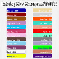 Kain WP Anti Ompol Bahan Sprei Meteran Waterproof Polos WP / WP POLOS