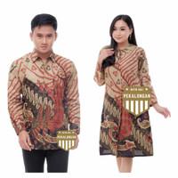 Couple Batik Sarimbit Baju Seragam Kemeja Batik Tunik Batik Terlaris