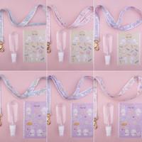 Choose Variant Lanyard + Disinfectant Bottle + Sticker - Jasmine Tease
