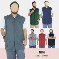 Rompi Sholat ROSAL Zipper Jumbo M - XXXL bukan Baju Koko Pakistan