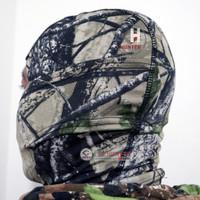 Balaclava Tactical Camo dan Motif Full Face - Scarf Face (Import) - Abu Abu Hutan