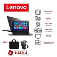 Laptop lenovo G-40 core i3 RAM 4GB HDD 500GB windows 10