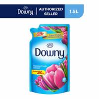 Downy Pewangi dan Pelembut Pakaian Konsentrat 1.5 L Free 350 ml