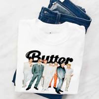Kaos Bts Wanita Kaos Butter Bts Kaos Wanita Kaos Oversize Baju Bts