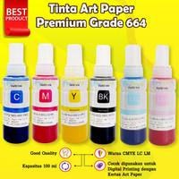 Tinta Art Paper 664 Epson Printer artpaper L360 L210 l120 L350 L220 - Biru