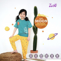 baju tidur anak perempuan Zebe 7 8 9 10 11 12 tahun