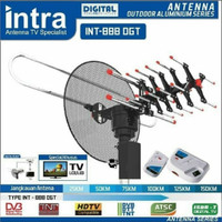 ANTENA TV DIGITAL REMOT INTRA INT 888 DGT ANTENA LUAR